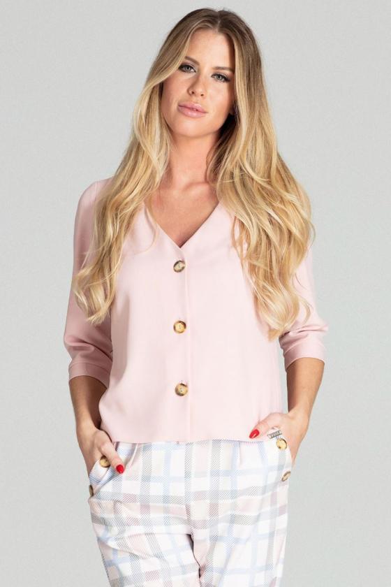Asimetriška kapučino spalvos mini suknelė_57391