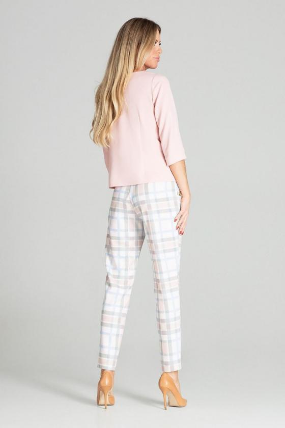 Asimetriška kapučino spalvos mini suknelė_57393