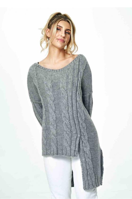 Trumpa raudona suknelė surišama ant kaklo_57436