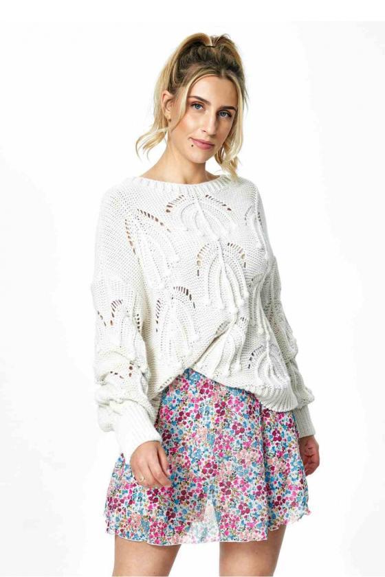 Trumpa raudona suknelė surišama ant kaklo_57437