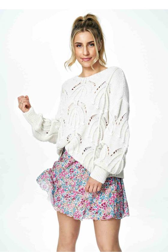 Trumpa raudona suknelė surišama ant kaklo