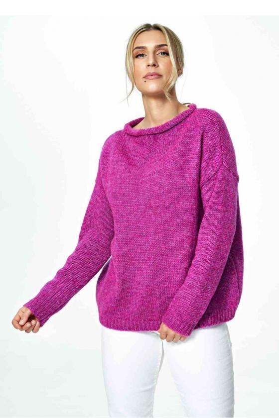 Mėlyna peplum suknelė su nėriniais_57470