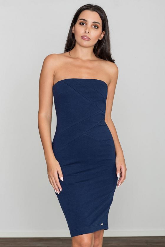 Prabangi bordinė suknelė atvira nugara_57502