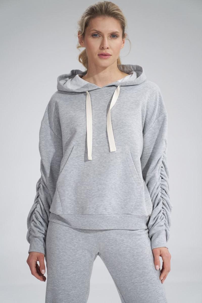 Prabangi suknelė su tiuliu dekoruota žvyneliais_57660