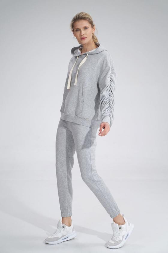 Prabangi suknelė su tiuliu dekoruota žvyneliais_57661