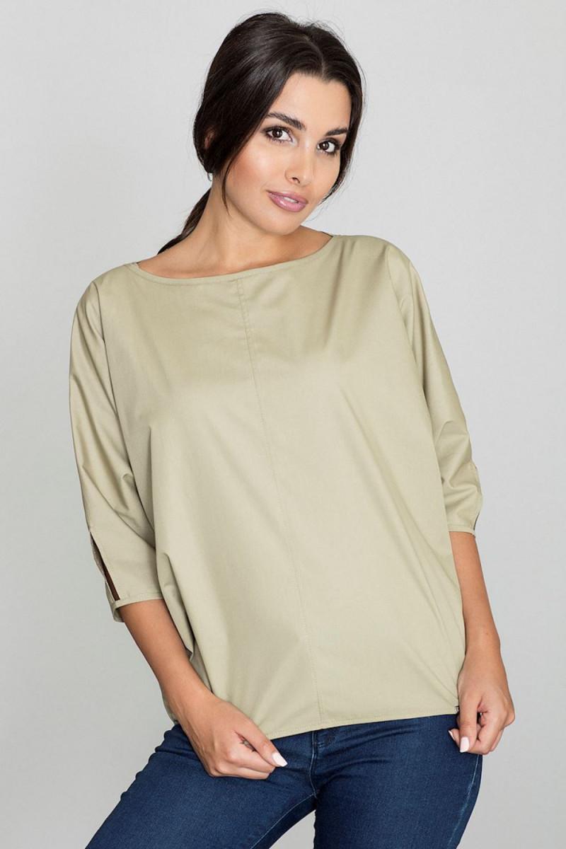 Mėlyna midi suknelė dekoruota gėlių raštu_57891