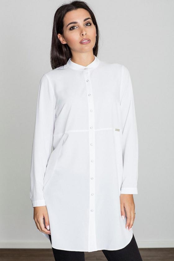 Rožinė midi suknelė dekoruota gėlių raštu_57907