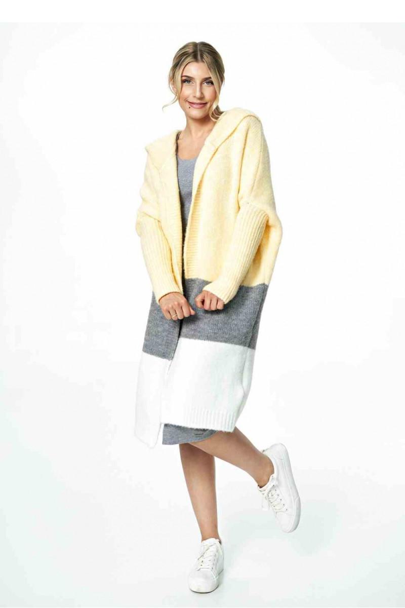 Mėlynos spalvos džinsų imitacijos leginsai su gėlėmis_58250