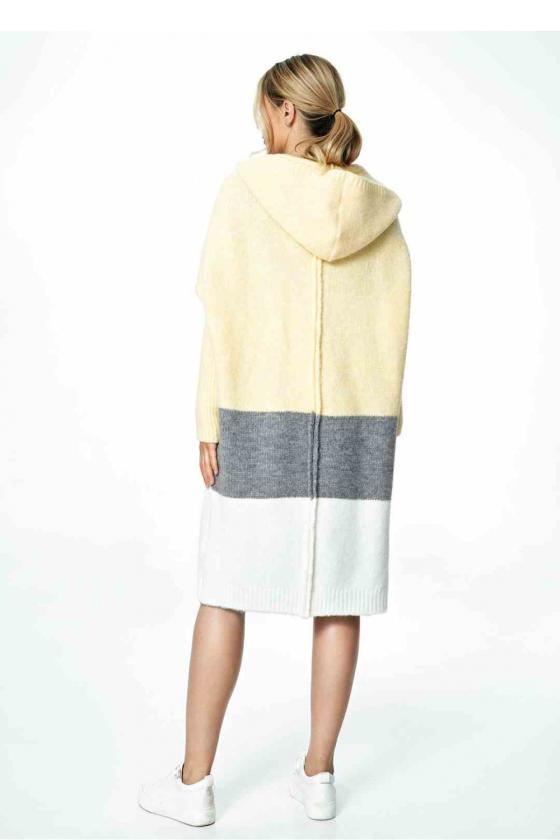 Mėlynos spalvos džinsų imitacijos leginsai su gėlėmis_58251