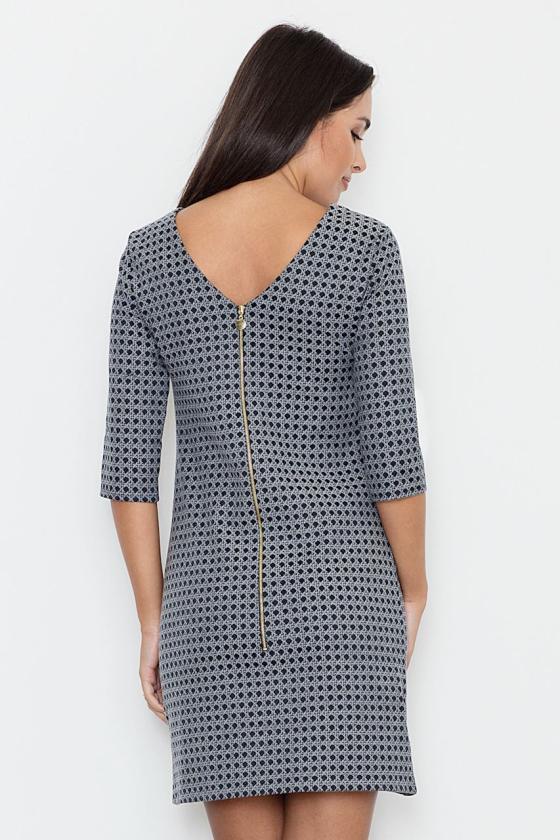 Rausvos spalvos šifoniniai marškiniai su šilku_58350