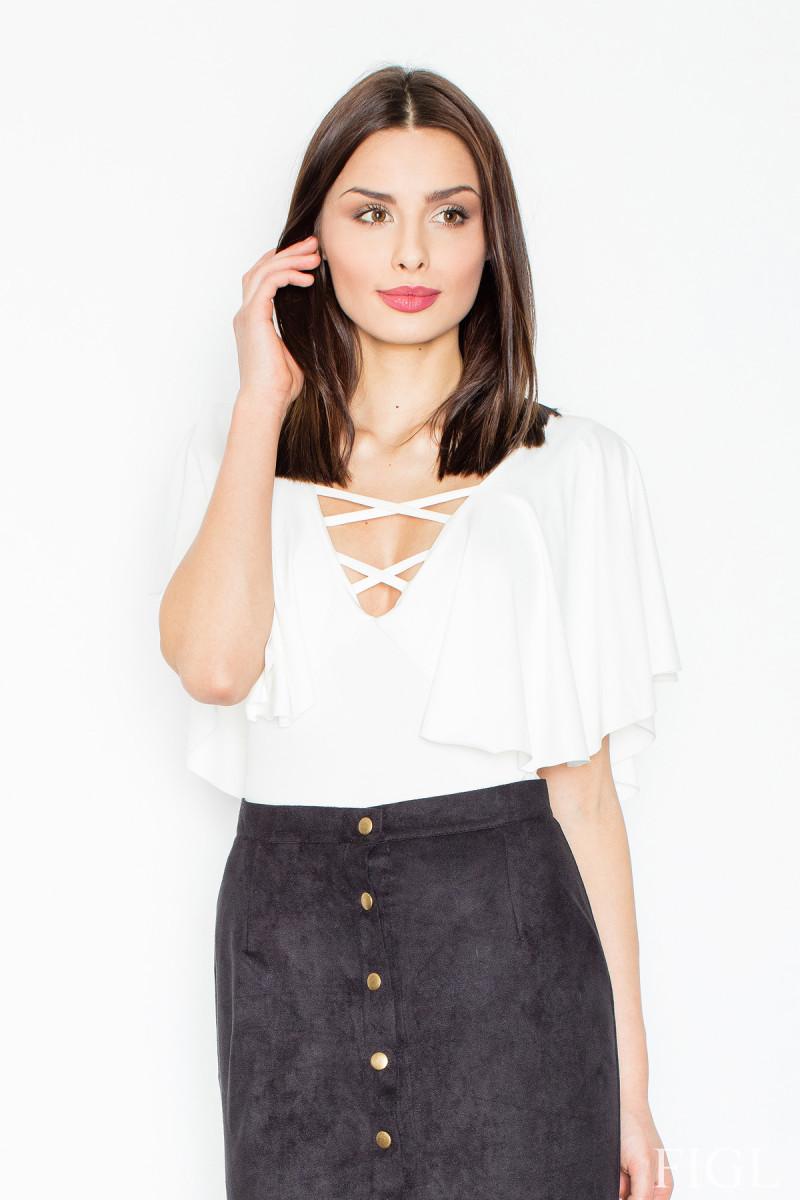 Rausvos spalvos šifoniniai marškiniai su šilku_58352
