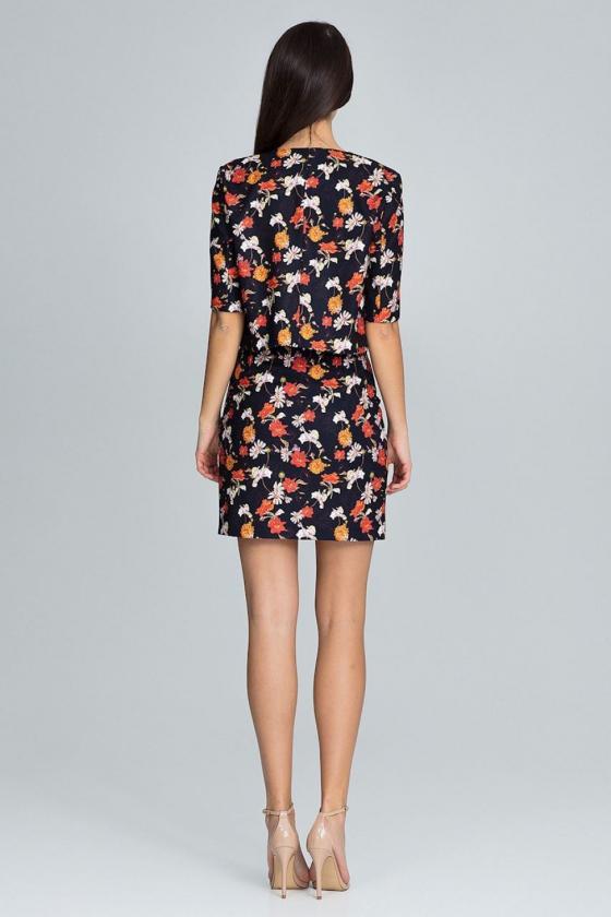 Trumpas rožinis sijonas su šilku_58382