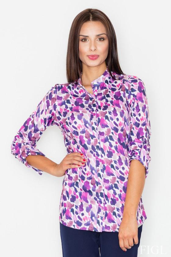 Madingas juodas odos imitacijos sijonas su dirželiu_58434