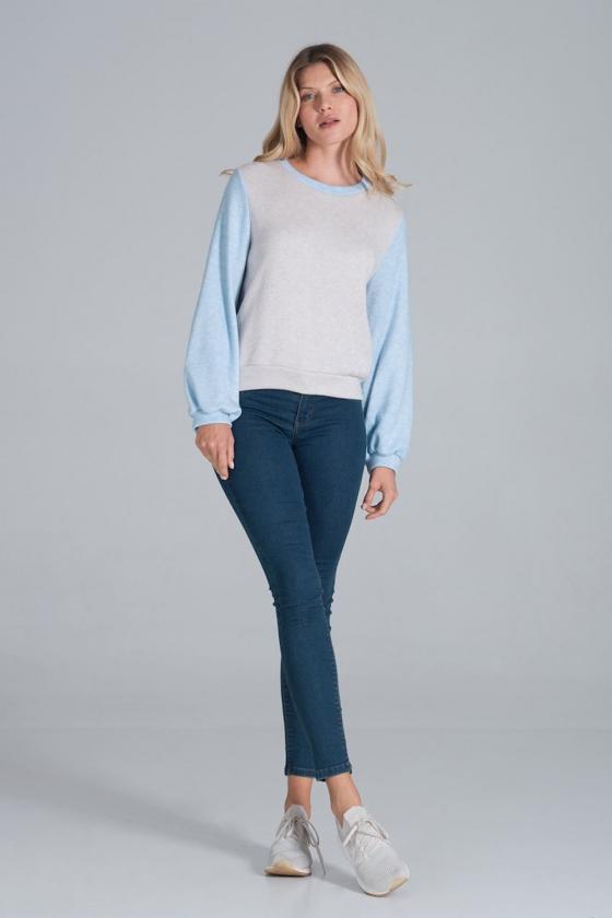 Madingas juodas odos imitacijos sijonas su dirželiu_58439