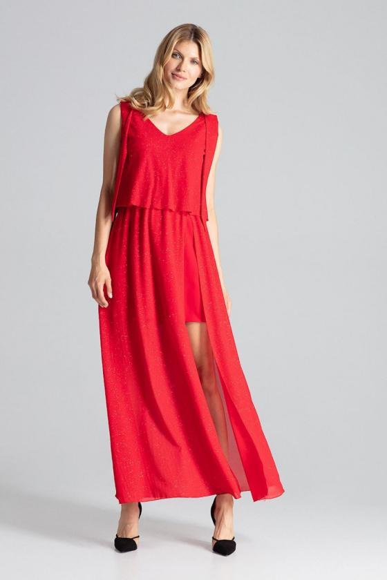 Madingas žalias odos imitacijos sijonas su dirželiu