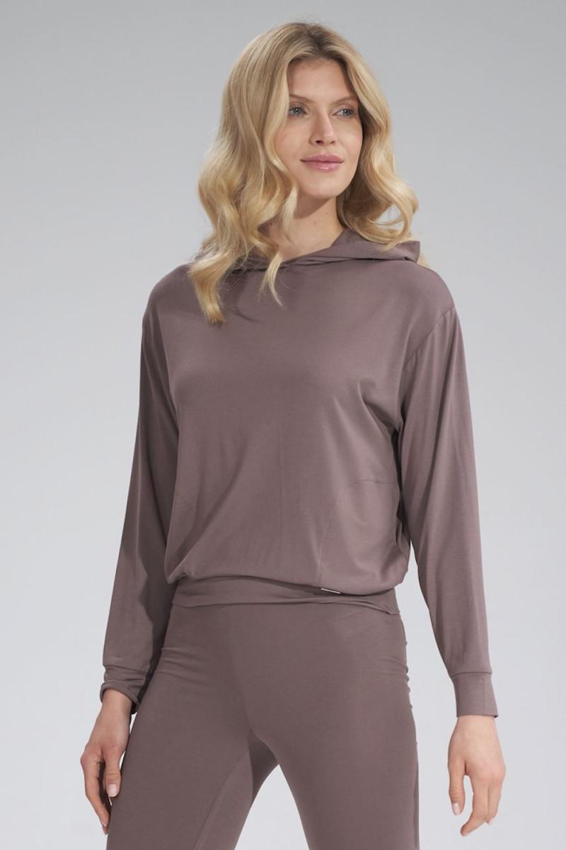Madingas rausvas odos imitacijos sijonas su dirželiu