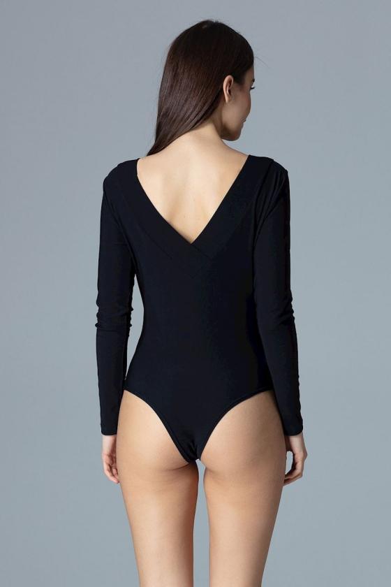 Raudona oversize suknelė su gobtuvu_58514