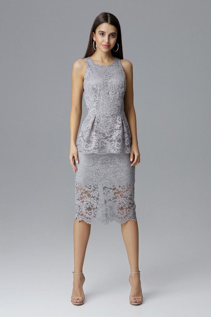 Raudona oversize suknelė su gobtuvu_58515