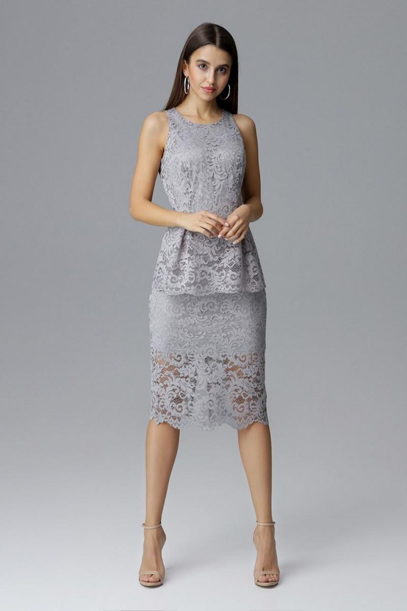 Raudona oversize suknelė su gobtuvu_58516