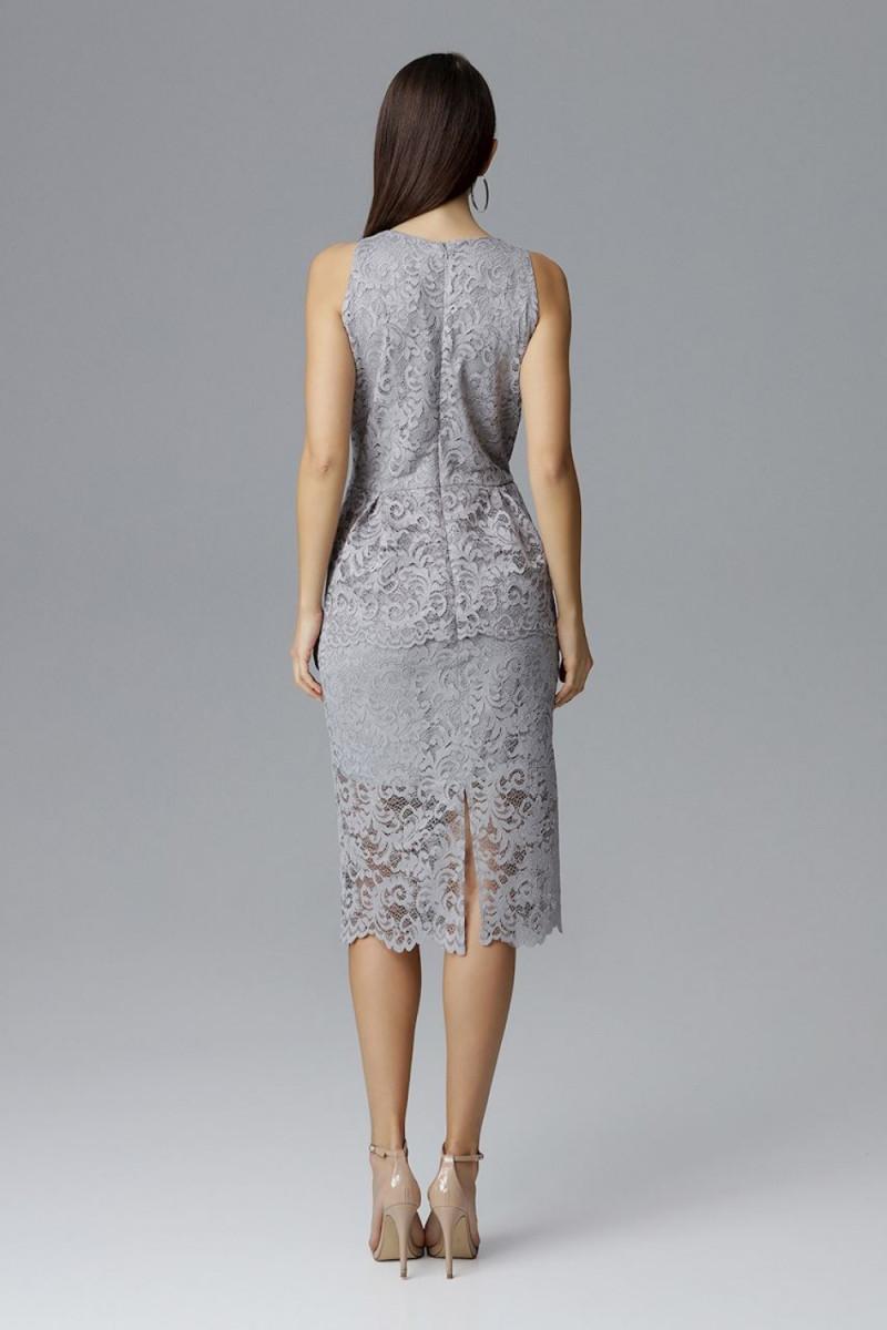 Raudona oversize suknelė su gobtuvu_58517