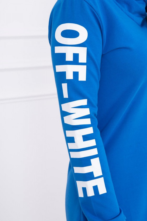 Mėlynos spalvos suknelė OFF-WHITE_58552