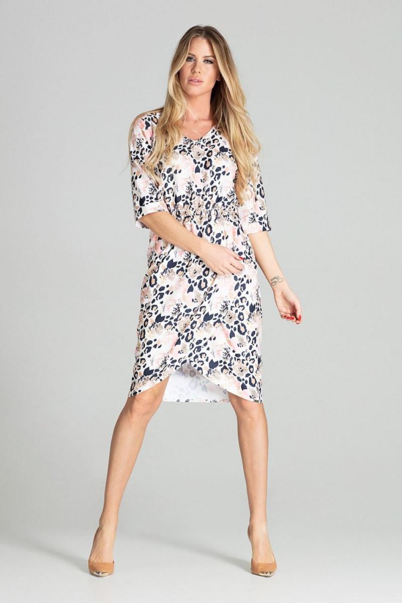 Mėlynos spalvos oversize suknelė su gobtuvu_58552