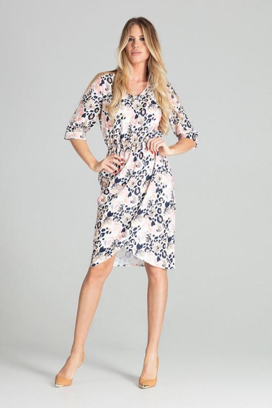 Mėlynos spalvos suknelė OFF-WHITE