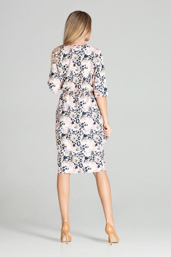 Mėlynos spalvos oversize suknelė su gobtuvu_58554