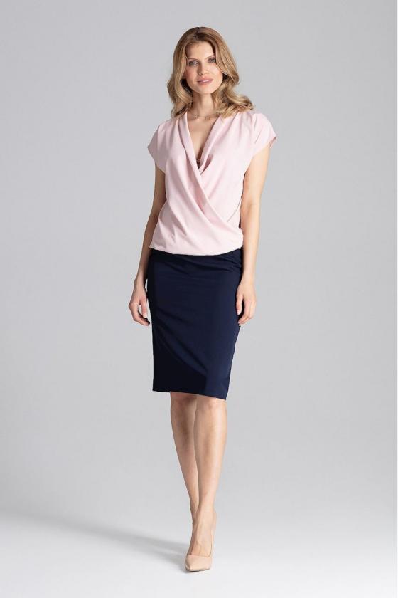 Dailus pilkas komplektas su leopardo raštu_58624