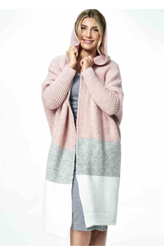 Dailus mėlynos spalvos komplektas su leopardo raštu_58649