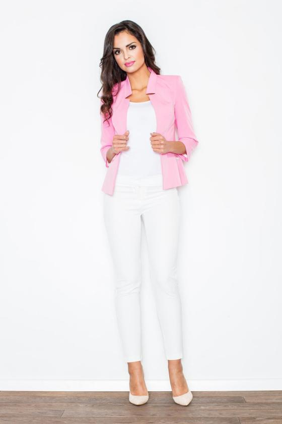 Mėlynos spalvos suknelė su kapišonu ir kišenėmis_58688