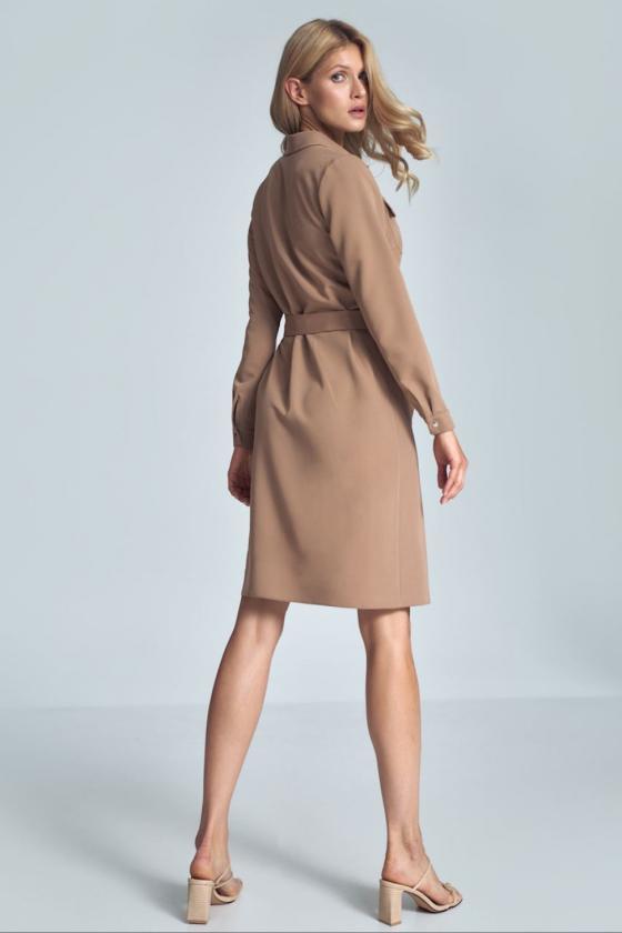 Vidutinio ilgio rožinė suknelė_58781