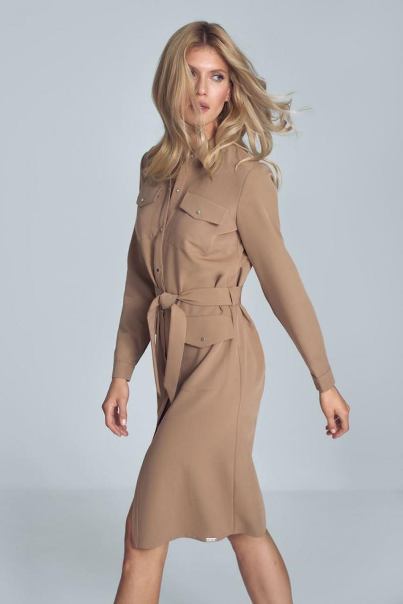 Vidutinio ilgio rožinė suknelė_58782