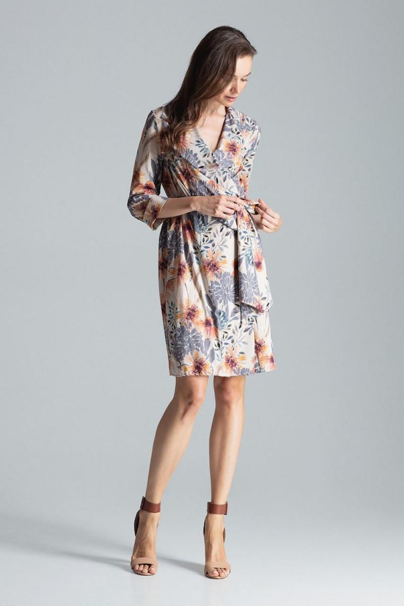 Vidutinio ilgio rožinė suknelė_58784