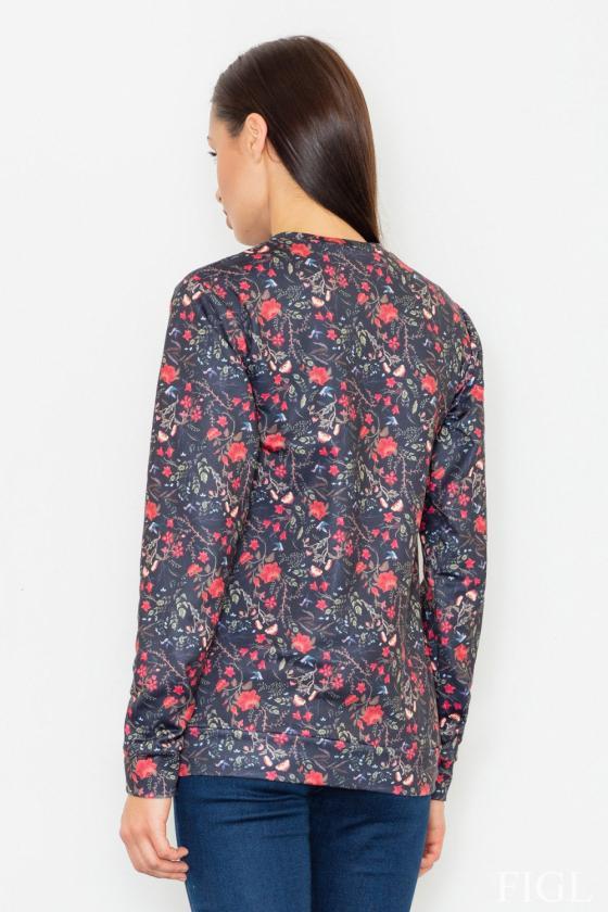 Ilga neoninė rožinė boho stiliaus suknelė