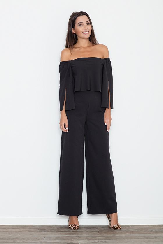 Ilga neoninė rožinė boho stiliaus suknelė_58871
