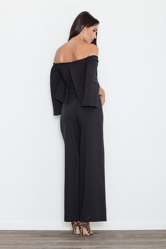 Ilga neoninė rožinė boho stiliaus suknelė_58872
