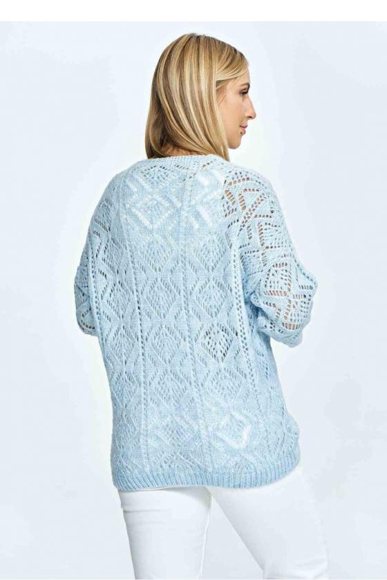 Mėlynas bikinis dekoruotas blizgiais žvyneliais_58972