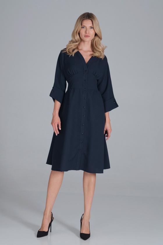 Juodos spalvos ilgas apsiaustas su gobtuvu