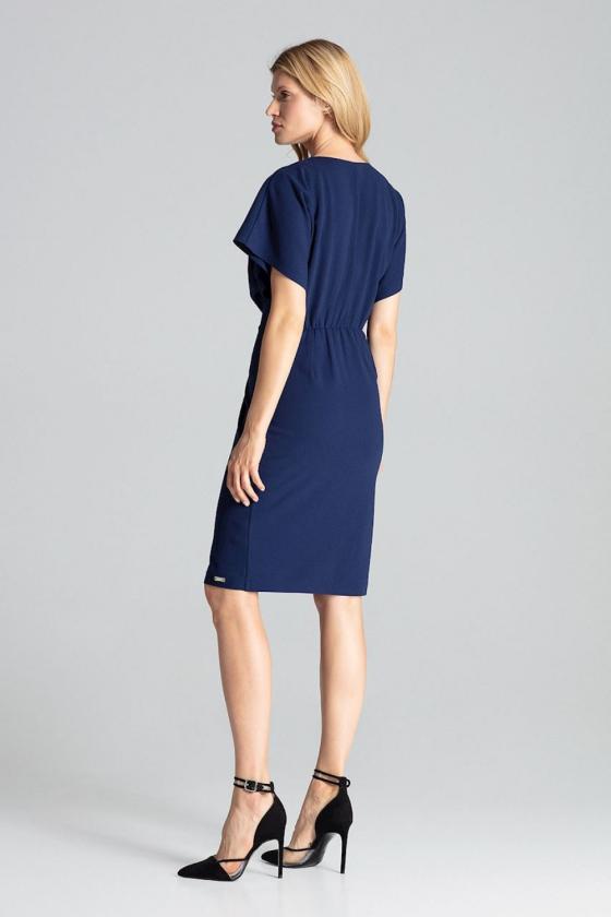Neoninė orandžinė palaidinė dekoruotas sagtimis_59228