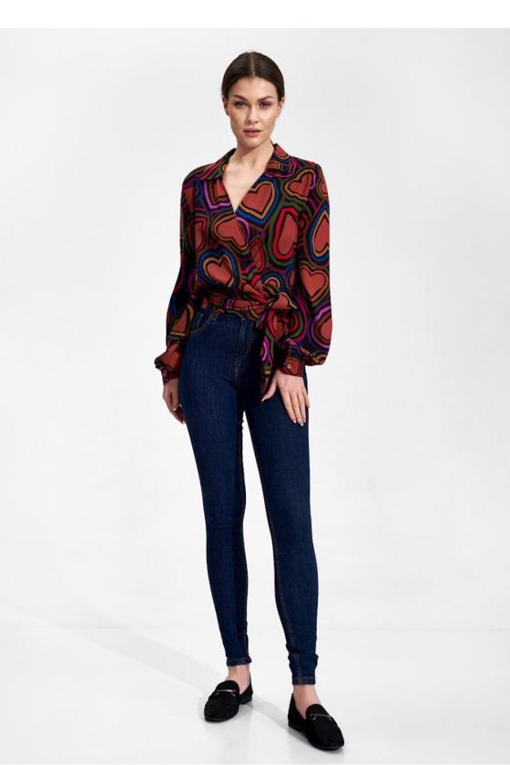 Juodos spalvos suknelė su sagtimis_59246