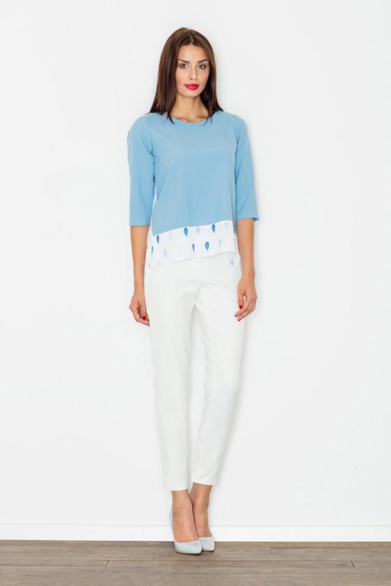 Neoninės rožinės spalvos suknelė su sagtimis_59261