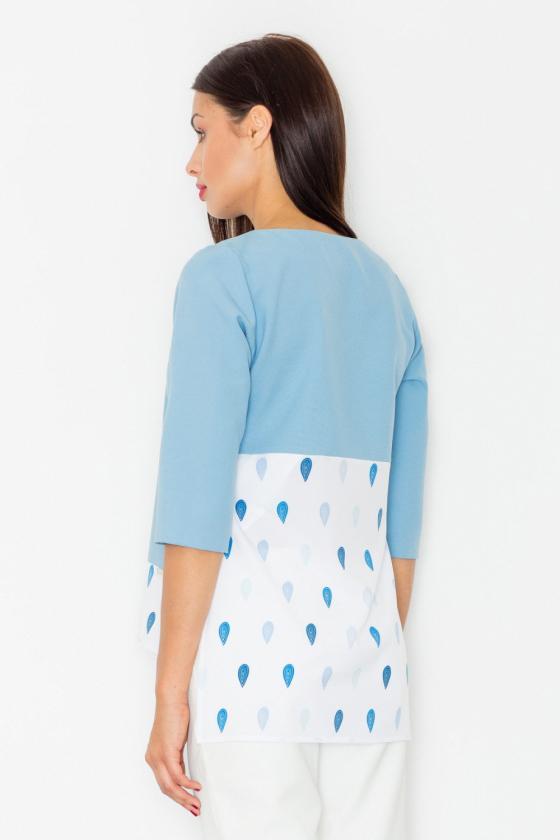 Neoninės rožinės spalvos suknelė su sagtimis