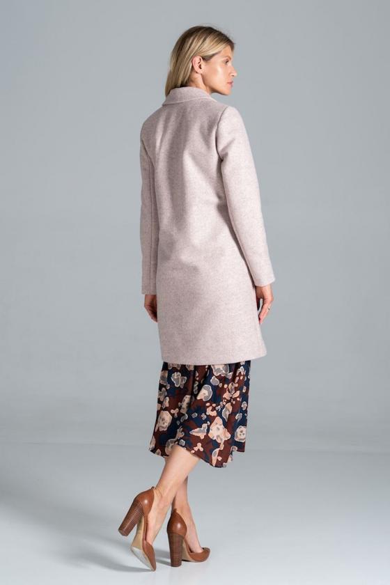 Šifoninė rausvos spalvos suknelė