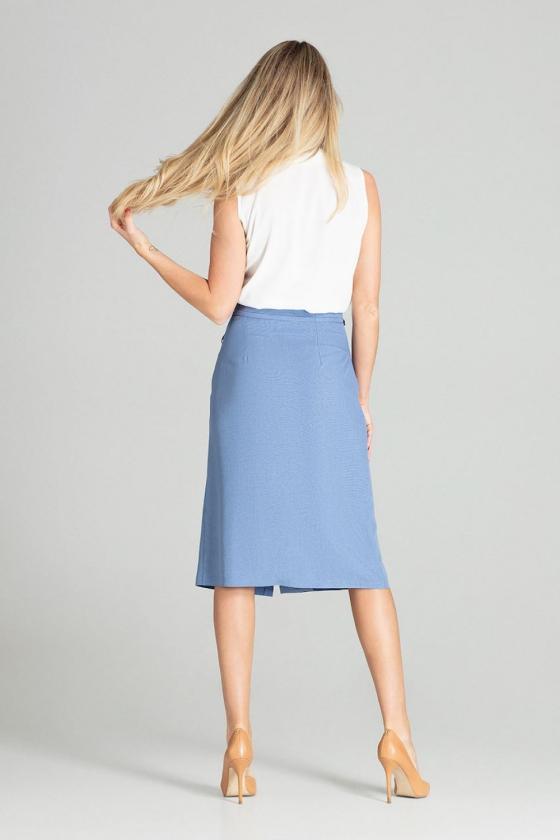 Raudonos dviejų dalių kostiumas (palaidinė+sijonas)_59321