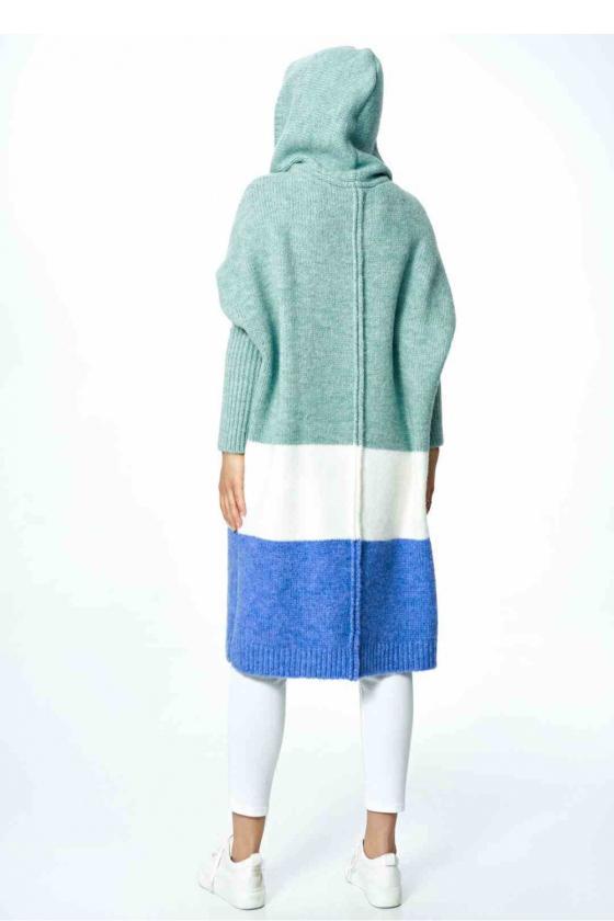Stilinga geltona suknelė atvirais pečiais_59407