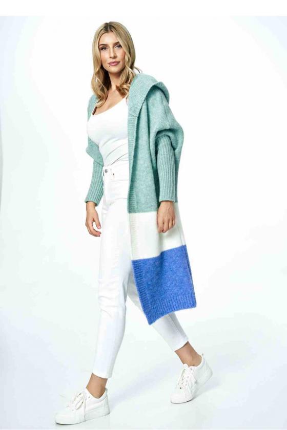 Stilinga geltona suknelė atvirais pečiais