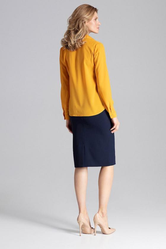 Elegantiška bordinė suknelė plačiomis rankovėmis_59413