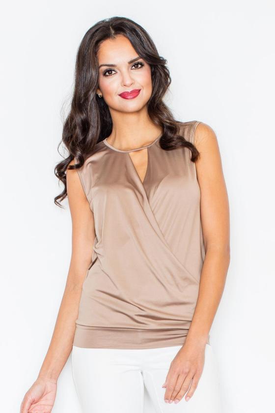 Elegantiška bordinė suknelė plačiomis rankovėmis