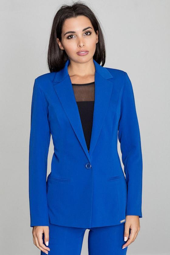 Rausva klasikinė marškinių stiliaus suknelė_59440